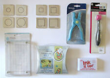 Martha Stewart Provo Craft Memorykeepers Scrapbooking Dies Hole Punch CRAFT LOT