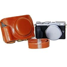 Brown PU Leather Camera Case for  Fujifilm Fuji X70 Digital Cameras