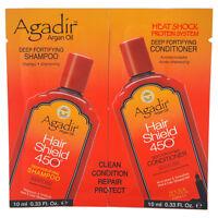 Agadir Argan Oil Hair Shield 450 Deep Fortifying Shampoo & Conditioner Duo