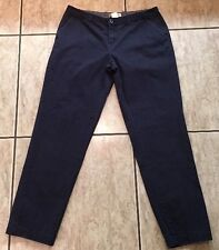 James Perse Deconstruct Blue Cotton Chinos Khahis Size 10