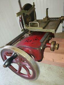 Antique  The A. J. Deer Co. ROYAL Type 50 Meat Slicer Slicing Machine delivery