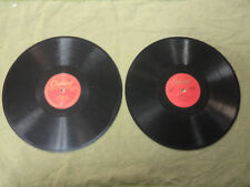 TWO NAT 'KING' COLE  78rpm RECORDS