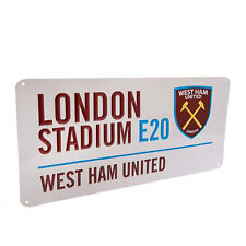 West Ham United F.C - Street Sign - GIFT / PLAQUE