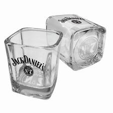 Jack Daniels Set of 2 Spirit Glasses 275ml Print Man Cave Bar Gift (JD009003)