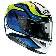 HJC RPHA 11 DEROKA BLUE MC2SF MOTORCYCLE HELMET - MEDIUM