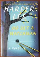 Go Set A Watchman by Harper Lee First Edition hardcover HCDJ