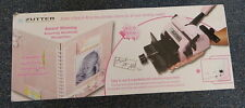 BIND IT ALL Zutter Version 2 Punch Binding Machine Pink In Box R10887