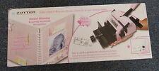 BIND IT ALL ZutterVersion 2 Punch Binding Machine Pink In Box R10887