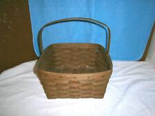 Vintage Handwoven USA Longaberger Basket