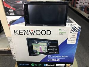 Kenwood DNX574S 2 Din AV Navigation System with Bluetooth and HD Radio