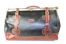 KO38 Doktortasche Tasche Reisetasche Vintage Leder schwarz braun Doctor Bag groß