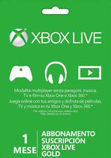 1 Mesi Xbox Live Gold Abbonamento per Microsoft MESE 1 XBOX ONE e XBOX 360 IT