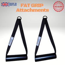 FAT GRIP Gym Pulley Handles