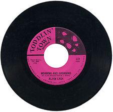 """ALVIN CASH """"GÉMISSEMENTS ET gémissant C/W Funky"""" 69"""" FUNK LISTEN!"""