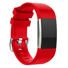 Replacement Silicone Soft Fitbit Charge 2 Wrist Strap Fitness Tracker Activity