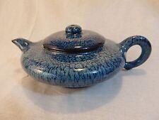 YiXing Zisha Teapot by GE MingXiang 葛明祥炉钧釉汉扁紫砂壶