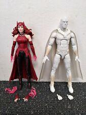 Marvel Legends WandaVision Scarlet Witch & White Vision Lot - Disney+ Plus MCU