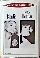 Cassette Blondie Pat Benatar Back to Back Hits TESTED Call Me -The Tide is High