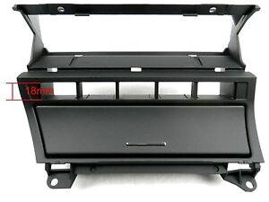 BMW E46 Blende für Mittelkonsole Doppel-DIN Radio Umbau - NEU -