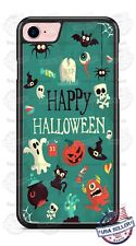 Happy Halloween Ghosts Pumpkin Phone Case Cover Fits iPhone Samsung LG iPod etc