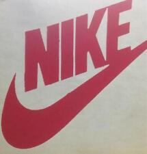 Vintage Nike Swoosh Logo iron on t-shirt heat transfer 1970's Red