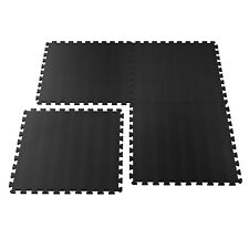 Foam Flooring Mats Fitness Garage Basement 32 Square Feet 8 Pc 2 Ft Each