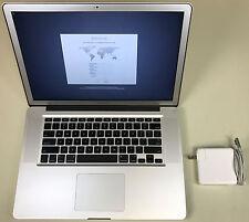 "Apple MacBook Pro 15"" Anti-glare A1286 2.3GHz Core i7 8GB RAM 512GB SSD 10.12"