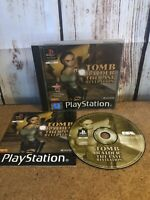 Tomb Raider The Last Revelation - PS1 -  Good Condition COMPLETE PAL UK