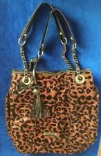 Betsy Johnson Leopard Print Sequins Handbag / Purse