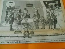 Caricature 1978  Un coin malfamé Tricheurs piqueurs FBG de la truanderie Tripot