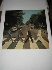 THE BEATLES LP ABBEY ROAD RARE SPANISH ORIGINAL FIRST ISSUE LAMINATED SLEEVE