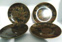 4 Vintage Raymond Waites Safari African lion leopard turkey horse Decor Plate bv