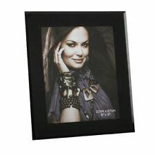 Impressions Plain Black Glass Photo Frame - 6' x 8' - FG37768