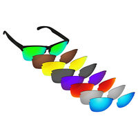 Hawkry Polarized Replacement Lens for-Oakley Frogskins Lite OO9374 - Multiple
