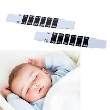 2x Baby Kids Adults Forehead Strip Head Thermometers Fever Reusable Reads Tes B$