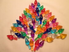 Ceramic Christmas Tree  Bulb lights Twists 55 Medium 9 colors **SPECIAL**