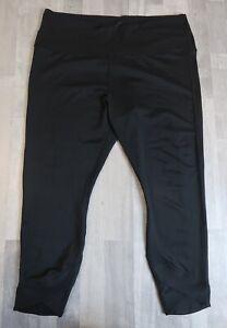 Women's Nike Dri-Fit Black Capris Size XXL