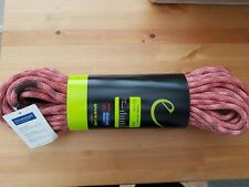New EDELRID Python Rock Climbing Rope 10mm x 40m Red Stone