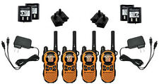 LOT of 4 Motorola TalkAbout MT350R FRS GMRS Walkie Talkie 2-WAY Radio TESTED!