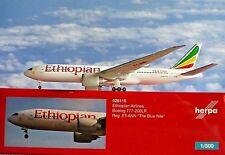 Herpa Wings 1:500 Boeing 777-200lr Ethiopian et-ann 528115 modellairport500