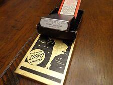 ZIPPO 50TH ANNIVERSARY BRUSH CHROME ZIPPO LIGHTER MINT IN BOX RARE 1932-1982