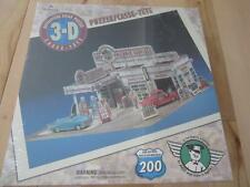 HALLMARK 3-D 200 PC PUZZLE PLAY GAS STATION ALS FRIENDLY SERVICE STATION NEW