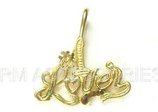 #1 Lover Charm / Pendant EP Gold Plated Jewelry with a Lifetime Guarantee