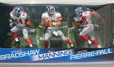 2012 Super Ball Champs! Ny Giants Ahmad Bradshaw Eli Manning & Jason Pierre-Paul
