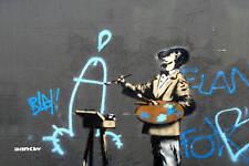 Banksy - Cock Artist -Photo Art Print