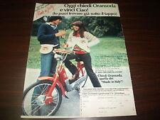 Pubblicità advertising anni 70. ORANSODA E PIAGGIO CIAO