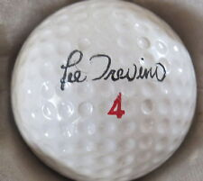(1) LEE TREVINO SIGNATURE LOGO GOLF BALL (DURA BALL FAULTLES SURLYN CIR 1968) #4