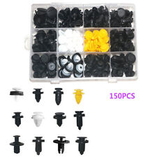 Universal 150 PCS 12 Sizes Car Door Panels Fasteners Bumper Cover Fender Clips