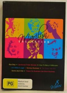 Marilyn Collection 8 Disc DVD Set - Region 4 - 8 Movies