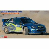 Hasegawa 1/24 SUBARU IMPREZA WRC 2005 RALLY MEXICO WINNER Kit w/ Tracking NEW